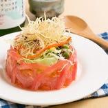 彩り野菜の王冠サラダ