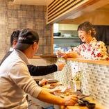 《日本酒が豊富》 利酒師厳選の日本酒は常時25~30種類取り揃え