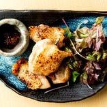 [徳島県産]阿波尾鶏の炭火焼き