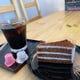 カフェタイムにはこだわりのドリンクとケーキをご提供。