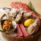 青森の八戸港より毎日仕入れる新鮮魚介!北の旬魚を味わう贅沢