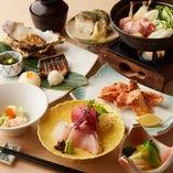 青森の新鮮な魚介や季節野菜の丁寧なお料理で、皆様をおもてなし