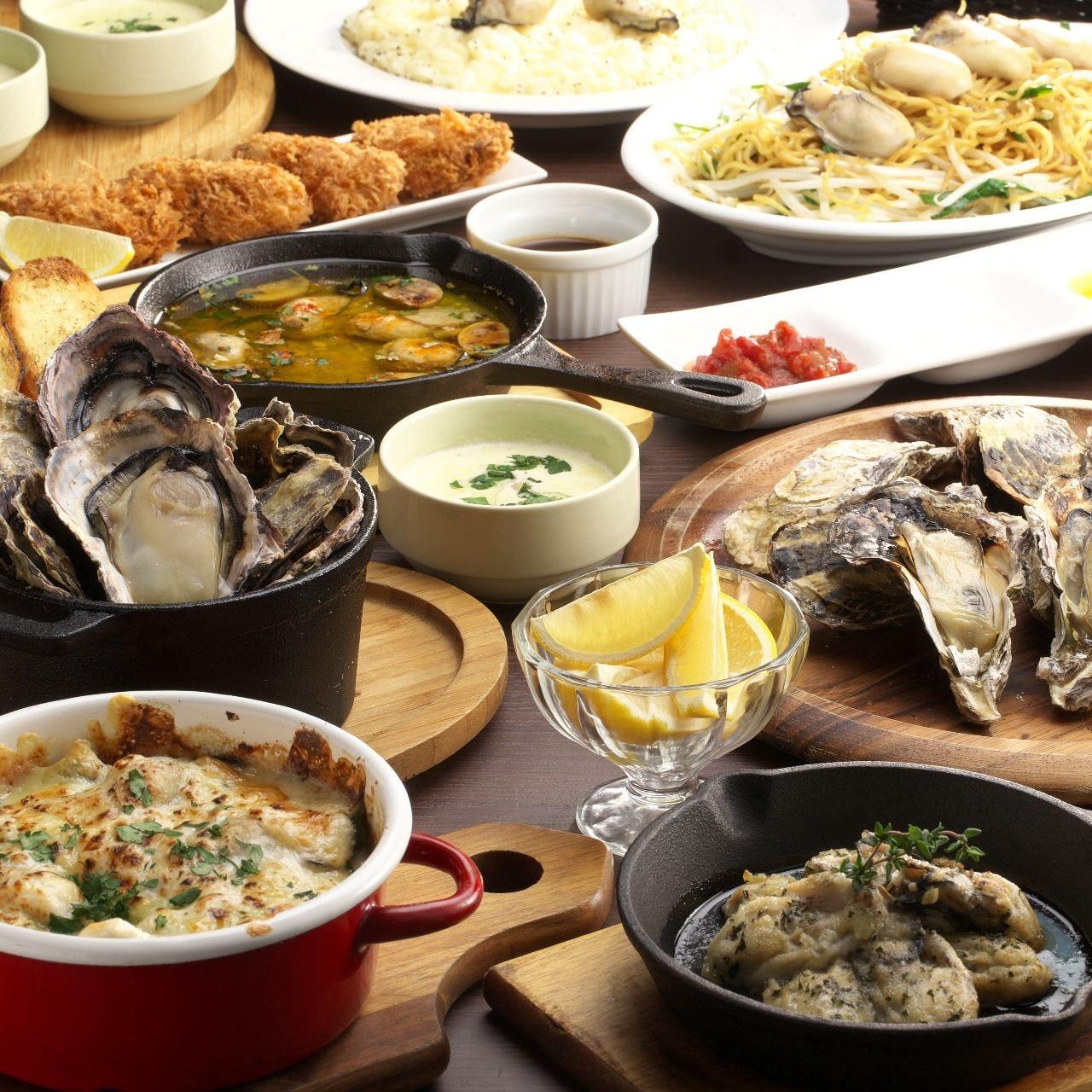 牡蠣食べ放題「オイスターガーデン」