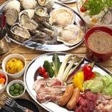 お好みのコース料理でアツい季節のかけがえのない思い出づくりを是非どうぞ。 ※過去のコース一例です。