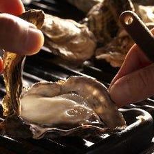 厳選した牡蠣を食べ放題♪