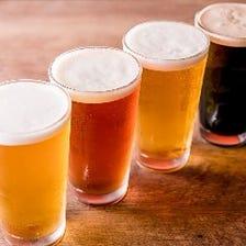 【クラフトビール1杯サービス】がついた席のみ予約☆