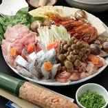 鍋に焼き物、お刺身、揚げ物、店長がおすすめするお料理をご提供