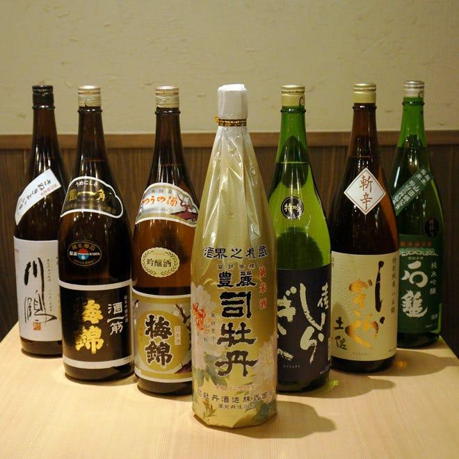 【地酒】四国厳選!銘酒の数々