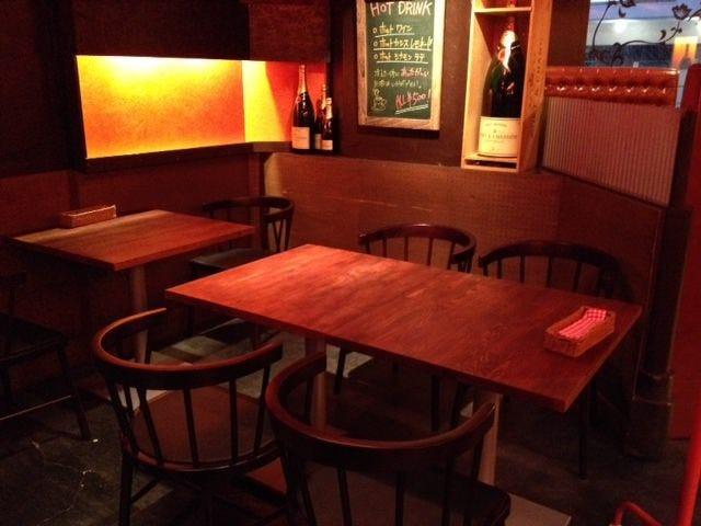 テーブル席・1名様~32名様