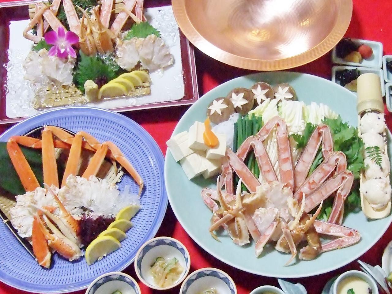 【お昼コース】ずわい蟹・かにすきコース 4900円