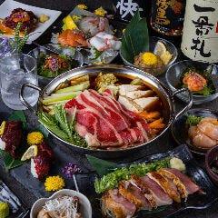 肉刺×地酒 越後屋 右京 福島駅前店