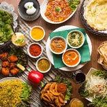 """本格スパイスを使用した""""日本人向け""""のインド料理&カレーを提供"""
