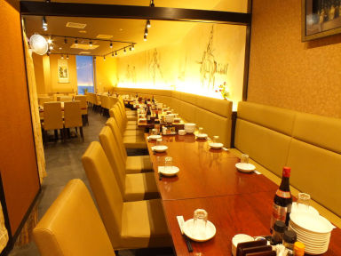 食べ飲み放題×個室宴会 青蓮 Luz大森店 店内の画像