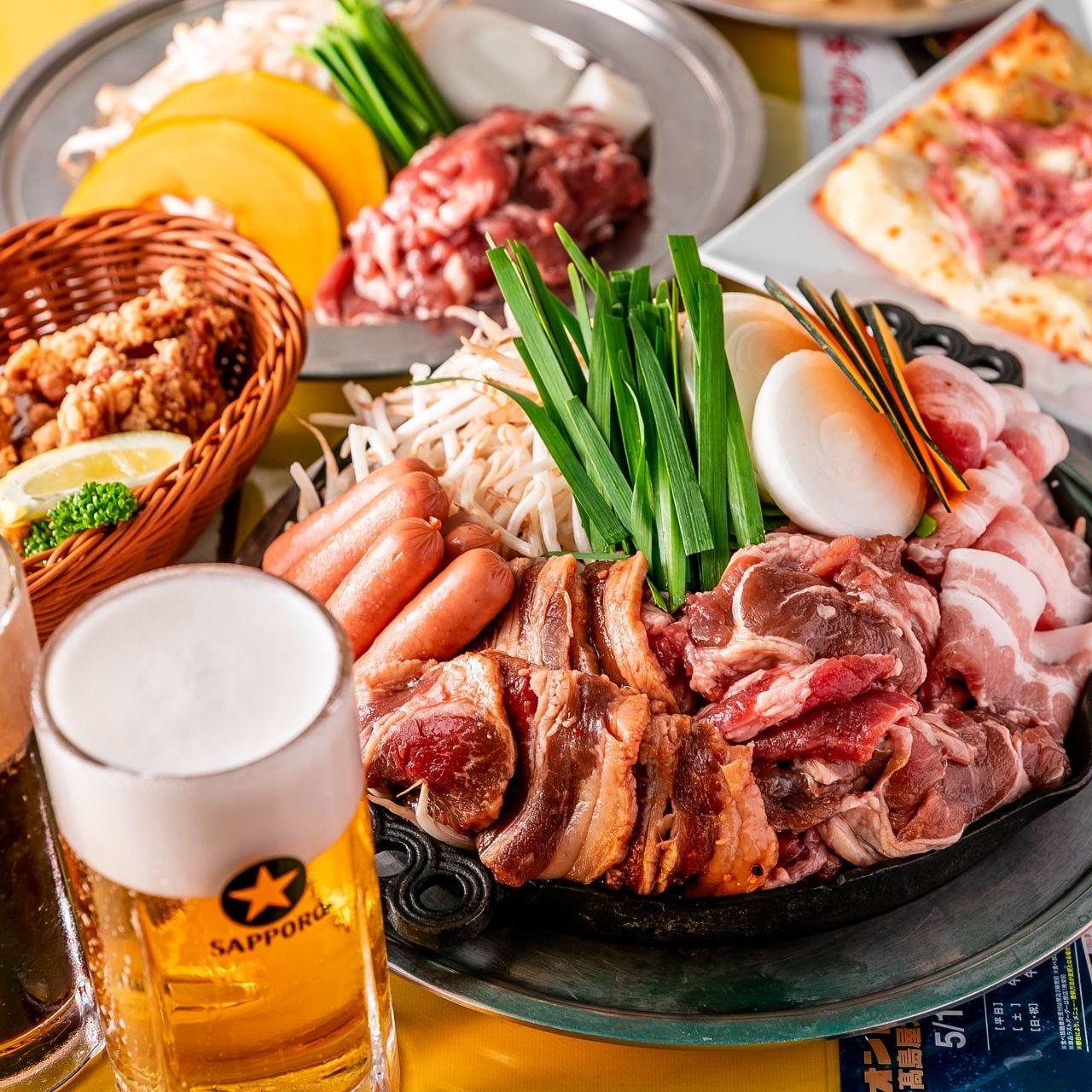 ビヤガーデンは食べ放題でお得に楽しむ♪コスパ抜群の食べ放題♪