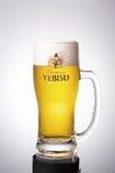 ヱビス生ビール(麦芽100%)