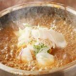 鯛の刺身入りスープ炒飯 after