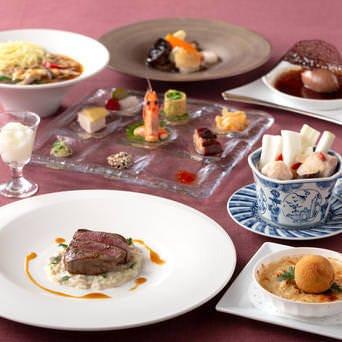 THE DINING シノワ 唐紅花&鉄板フレンチ 蒔絵  こだわりの画像