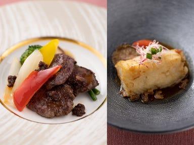 THE DINING シノワ 唐紅花&鉄板フレンチ 蒔絵  メニューの画像