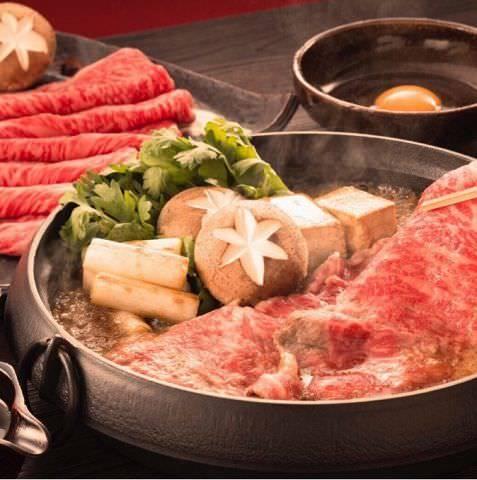 ◆メイン5種の中から選べます!画像は黒毛和牛すき焼です