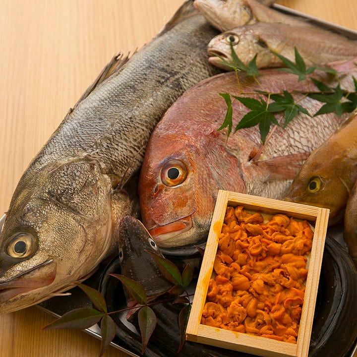 流通のスピードが自慢!豊富な鮮魚