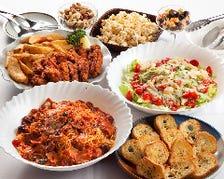 イタリアン中心の選べるお料理♪