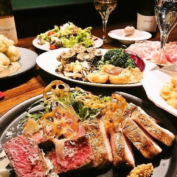 飲み放題でイタリアの料理を気軽に!