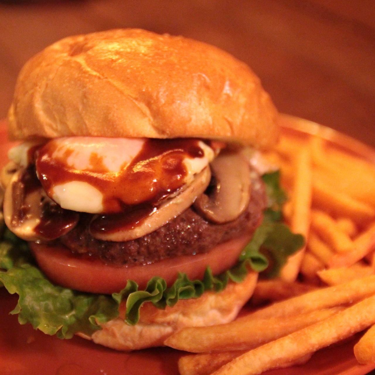 WOOD STOCKのハンバーガーをご自宅でも♪