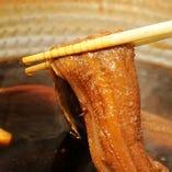 煮穴子の炙り