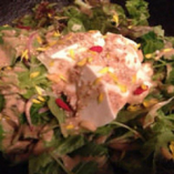 【三重県産】 焙煎胡麻だれの豆富サラダ