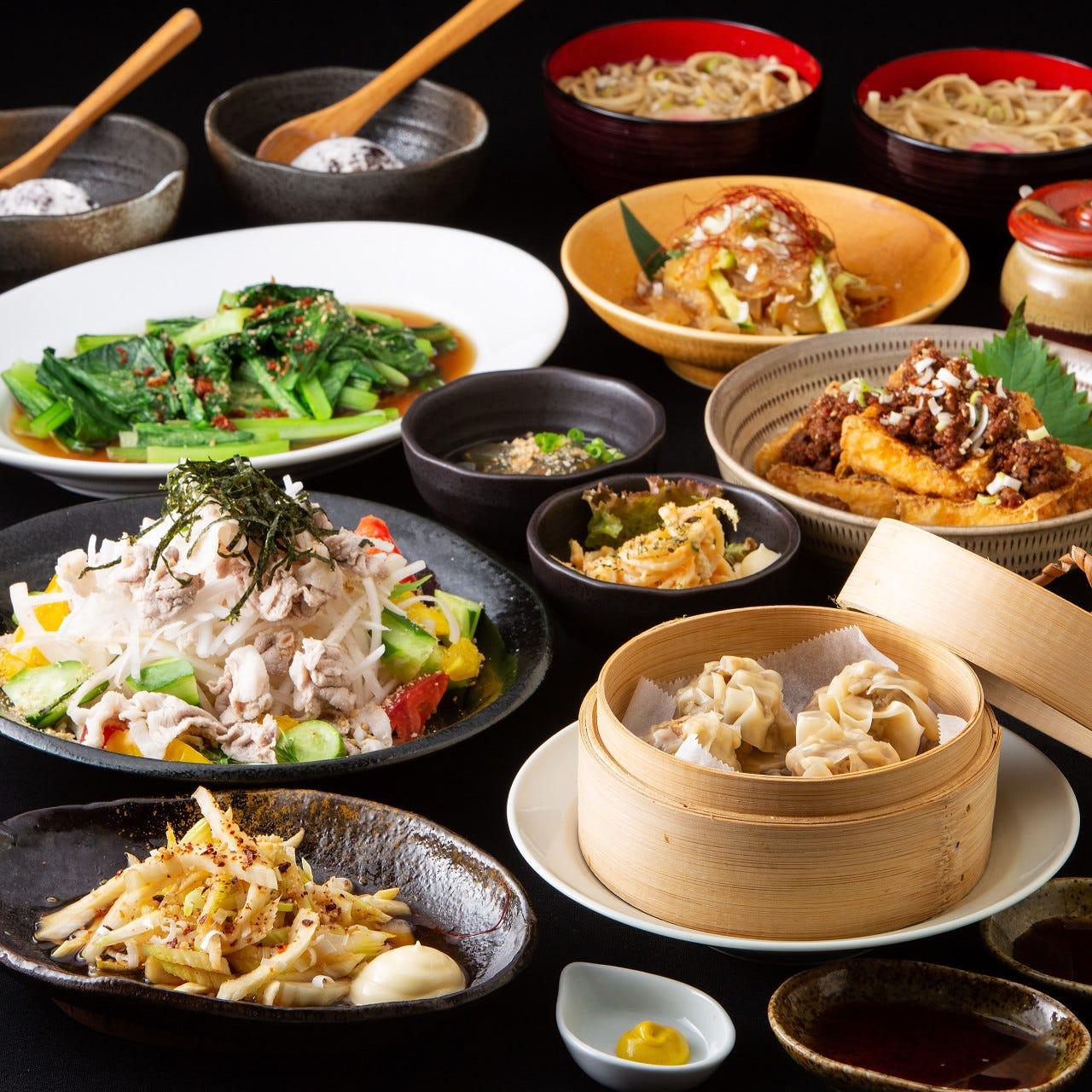 台湾料理を堪能できる宴会コース
