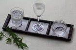 利き酒セット 1300円 山口のお酒の個性を飲み比べてみませんか