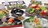 【下関の食材満載の豪華会席】下関満関善席(3日前までの要予約)