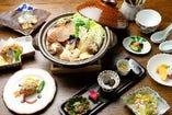 【ヘルシーな冬の贅沢鍋】あんこうコース ※10月~3月末