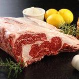 肉は厳選したハンキングテンダーを使用しています。