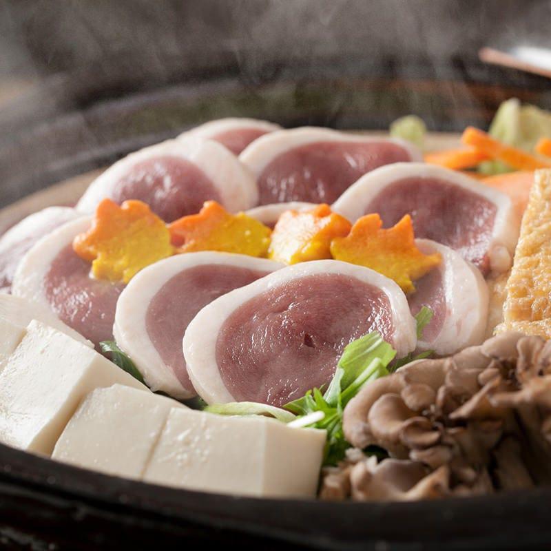 季節を味わえる鍋コース