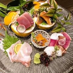 厳選高級鮮魚三種盛り合わせ