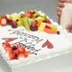 パティシエ特製★ホールケーキは2名様用サイズからご用意可能!