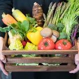 野菜は、飼料・土作りからこだわった地元滋賀県の生産者から直接仕入れています。