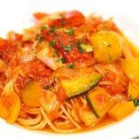 【乾麺】パルミジャーノチーズのトマトパスタ