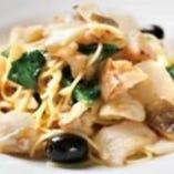 【乾麺】たらとかぶのペペロンチーノ