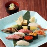 大満足の『超特上寿司』 ワンランク上!充実の内容。