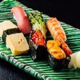 確かな技術で握った寿司を、笑顔で召し上がっていただきたい