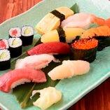 大人気!『特上寿司』 寿司の醍醐味を味わってください…