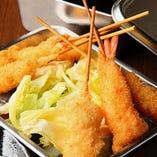 【飲み放題付】宴会で大阪名物を堪能!『きりがね屋台巡りコース』