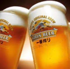 生ビール350円!!