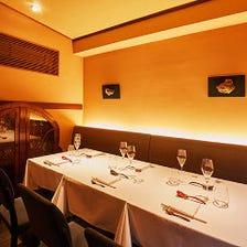 接待や会食に最適◎個室完備。