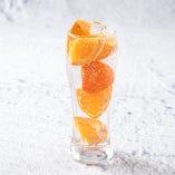 ごろっとフルーツサワー(オレンジ)