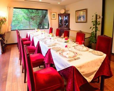 レストラン 花の館 パラディ北野  店内の画像