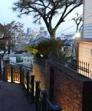 神戸北野の石畳に佇む隠れ家スポット