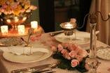 北野の邸宅レストランで豪華なフレンチディナー・・